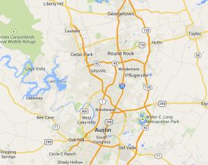 Austin-Cool-Pools-Coverage-Map